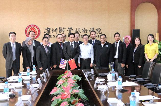 马来西亚教育部及高校代表一行来校访问